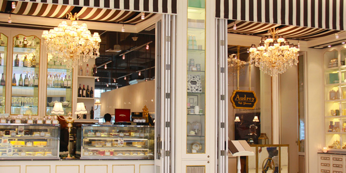 Exterior from Audrey Cafe Glamour at Central Embassy, Bangkok