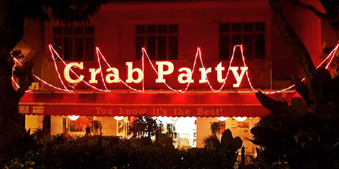 Exterior from Crab Party in Yio Chu Kang, Singapore