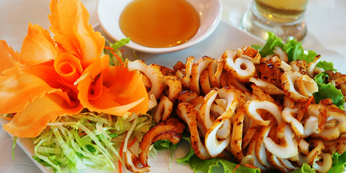 Fried Squid from Crab Party in Yio Chu Kang, Singapore