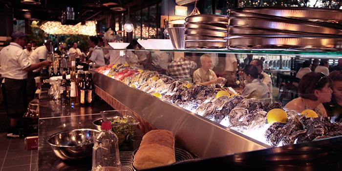 Interior of Greenwood Fish Market @ Quayside Isle in Sentosa, Singapore
