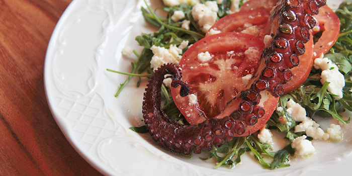 Octopus from Greenwood Fish Market @ Quayside Isle in Sentosa, Singapore