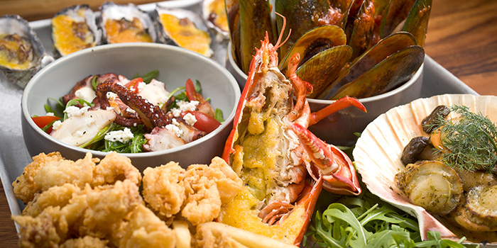 Seafood Platter from Greenwood Fish Market @ Quayside Isle in Sentosa, Singapore