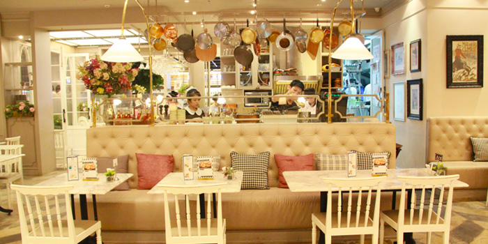 Interior of Petite Audrey at Siam Center, Bangkok