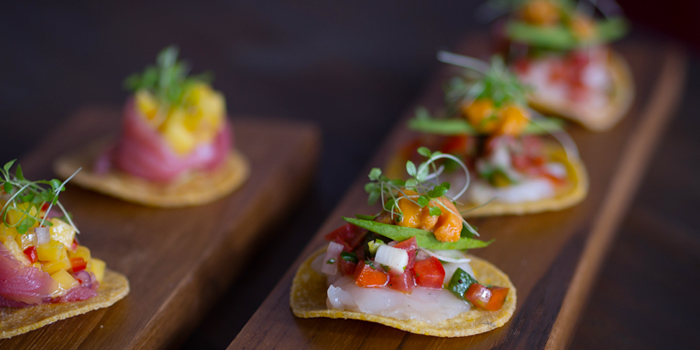 Mini Tacos from Touché Hombre in Thonglor, Bangkok