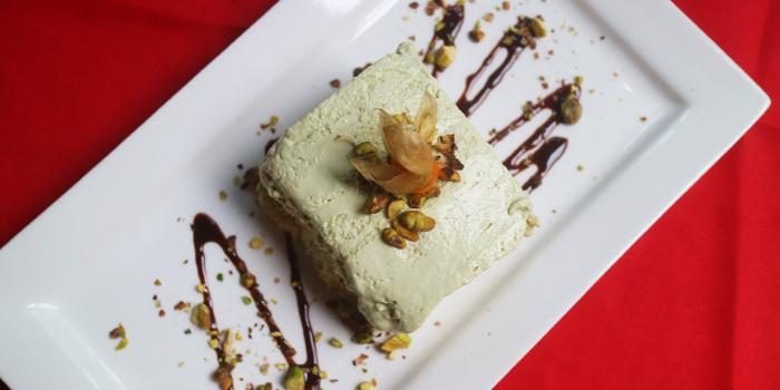 Pistachio Tiramisu from Mondo Mio Italian Restaurant & Bar in Robertson Quay, Singapore