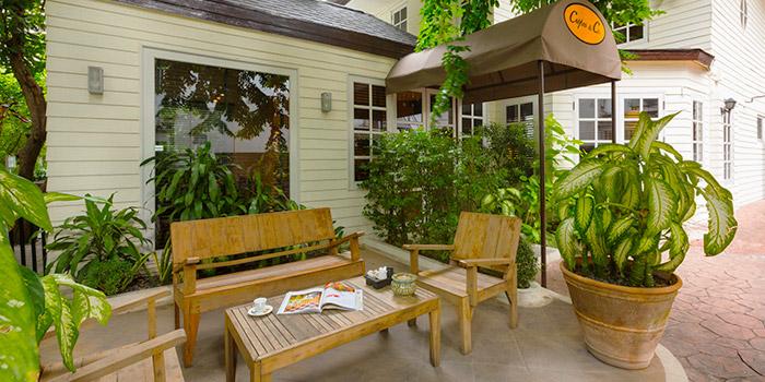 Outdoor from Crepe & Co in Langsuan Soi 1 Ploenchit Road, Bangkok