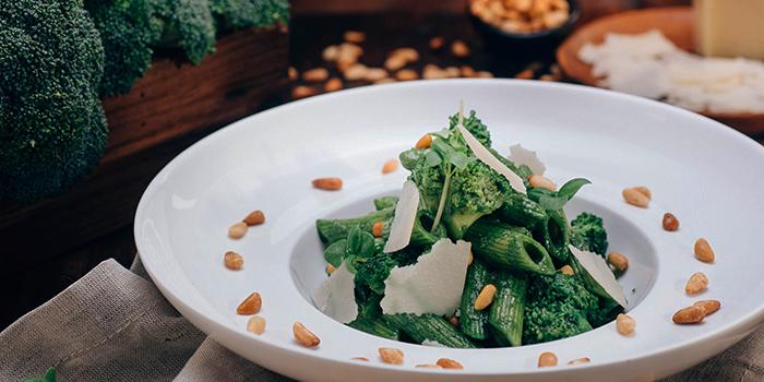 Pesto Tossed with Broccoli, hmv Bar & Restaurant, Causeway Bay, Hong Kong