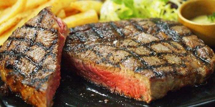 Rib Eye Steak, Chez Raymond de Paris, Sai Kung, Hong Kong