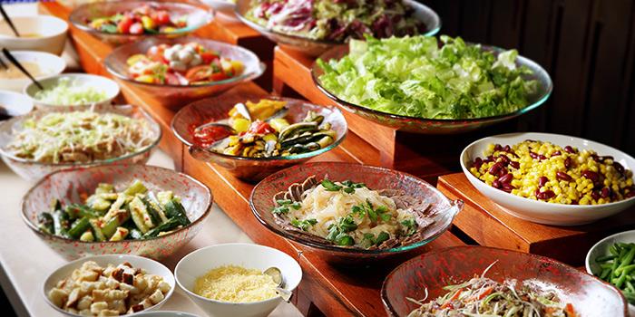 Salad Corner, Café 103, Tsim Sha Tsui, Hong Kong