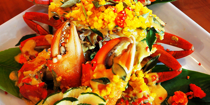 Salted Egg Crab from Crab Party in Yio Chu Kang, Singapore