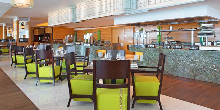 Interior of Seasonal Tastes in Marina Bay, Singapore