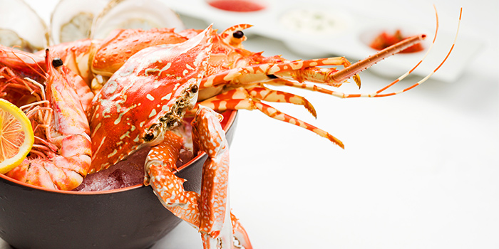 Seafood from Seasonal Tastes in Marina Bay, Singapore