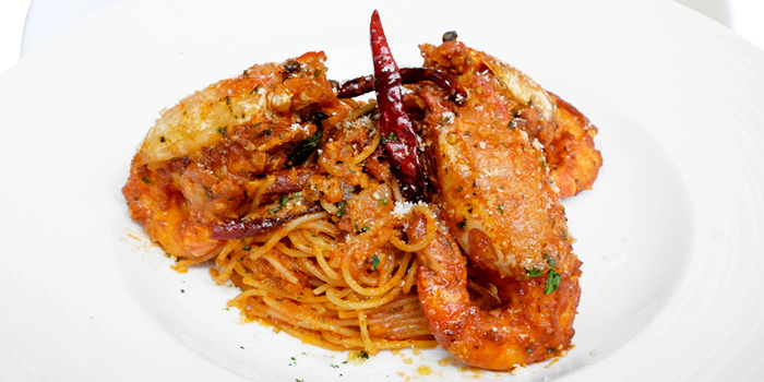 Spaghetti from Audrey Cafe Glamour at Central Embassy, Bangkok