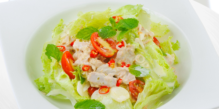 Spicy Tuna Salad from Audrey Cafe Glamour at Central Embassy, Bangkok