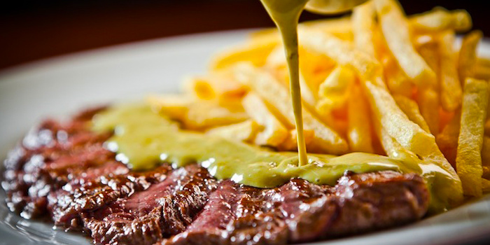 Steak from Le Boeuf at Marriott Mayfair Hotel in Langsuan, Bangkok
