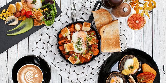 Breakfast Set from Symmetry in Bugis, Singapore