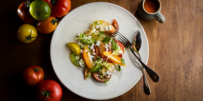 Heirloom Tomato Salad from The Halia at Singapore Botanic Gardens in Tanglin, Singapore