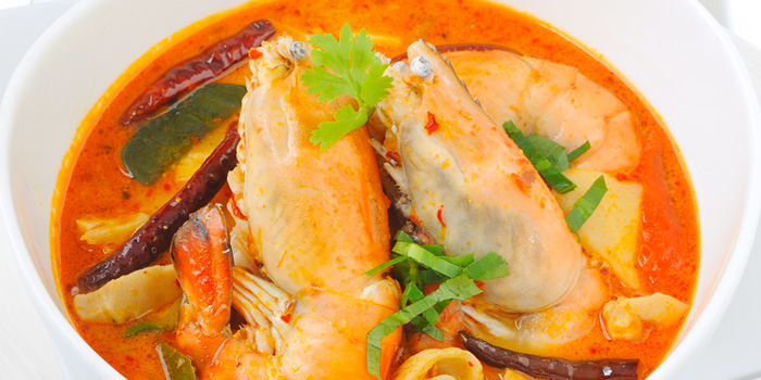 Tom Yum Kung from Audrey Cafe Glamour at Central Embassy, Bangkok