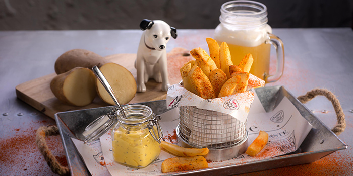 Truffle Fries, hmv Bar & Restaurant, Causeway Bay, Hong Kong