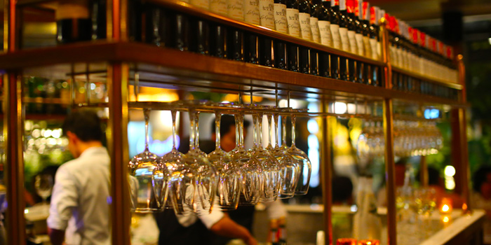 Wine Collection from Le Boeuf at Marriott Mayfair Hotel in Langsuan, Bangkok