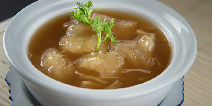 Double Boiled Fish Maw Soup from Yhingthai Palace Restaurant in Bugis, Singapore