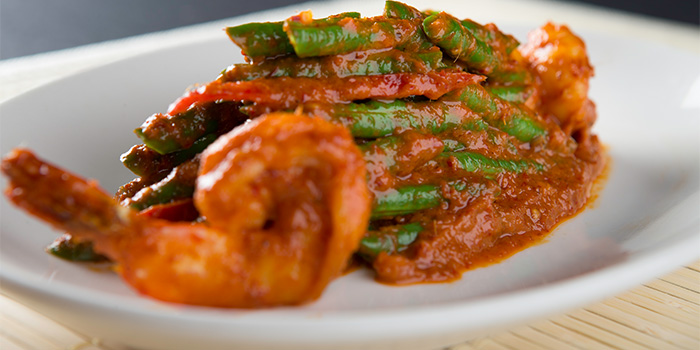 Thai String Beans with Prawns from Yhingthai Palace Restaurant in Bugis, Singapore