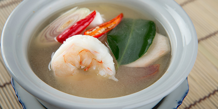 Tom Yum Seafood Soup from Yhingthai Palace Restaurant in Bugis, Singapore
