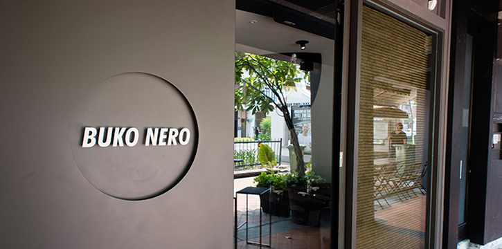 Entrance of Buko Nero in Tanjong Pagar, Singapore