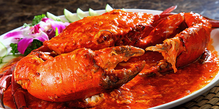Chilli Crabs from Crab Corner in Jurong, Singapore