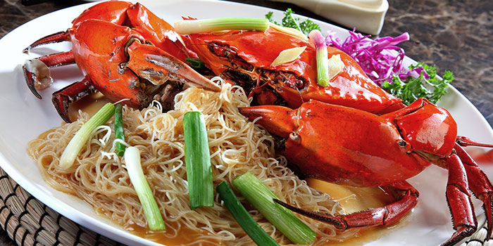 Crab with Noodles from Crab Corner in Jurong, Singapore