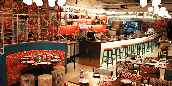Interior of Ding Dong in Raffles Place, Singapore