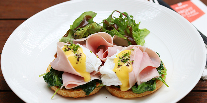 Eggs Benedict from Da Paolo BistroBar at Rochester Park, Singapore
