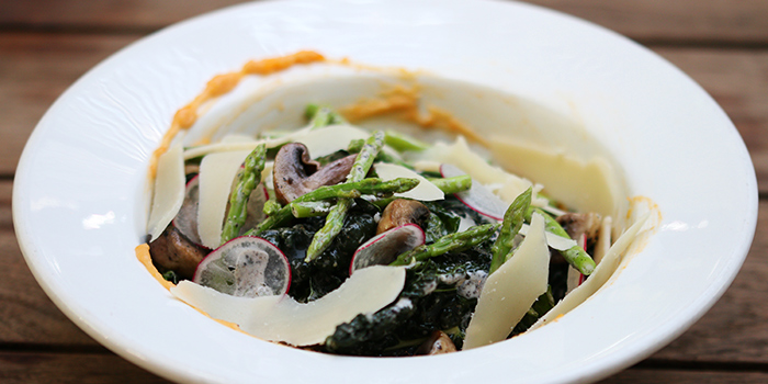 Kale & Mushroom Salad from Da Paolo BistroBar at Rochester Park, Singapore