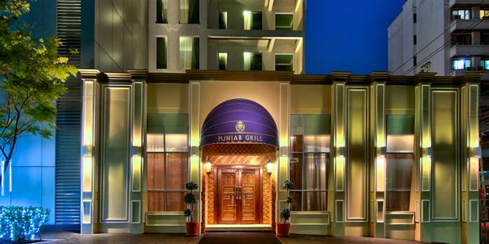 Exterior of Punjab Grill Bangkok at Radisson Suites Bangkok Sukhumvit in Nana, Bangkok