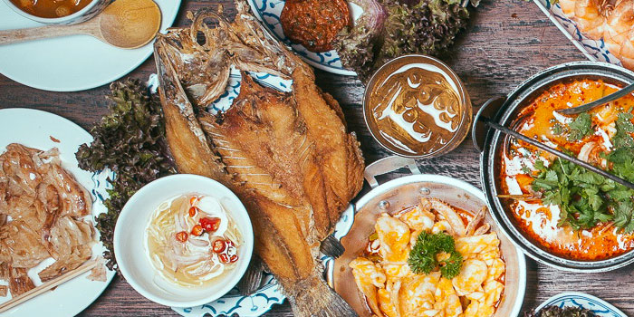 Fish from Laemgate Infinite at SJ Infinite One Business Complex in Chatuchak, Bangkok