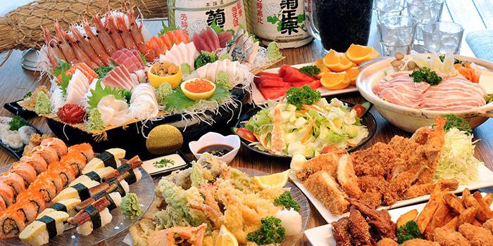 Food Spread from Otaru Suisan in Bugis, Singapore