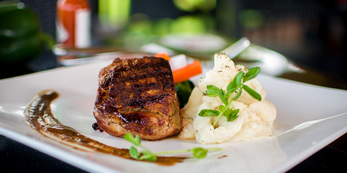Grilled Pork Chop from Georges Beach Club in East Coast, Singapore
