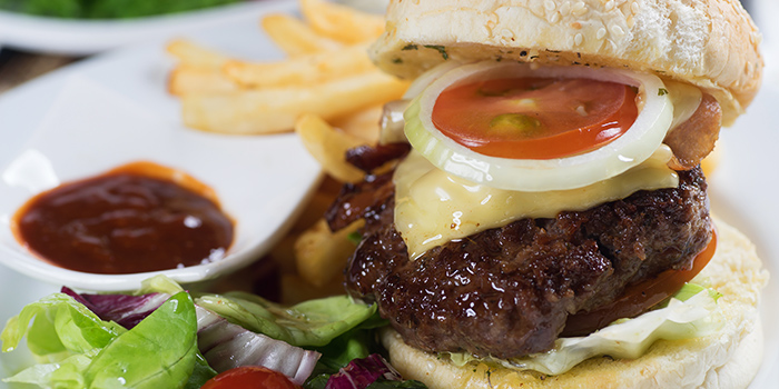 Cop The Lot Burger from Georges By The Bay in Punggol, Singapore