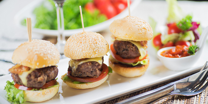 Beef Sliders from Georges @ The Cove in Pasir Ris, Singapore
