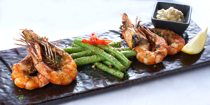 Grilled Tiger Prawns, Port, Tsim Sha Tsui, Hong Kong