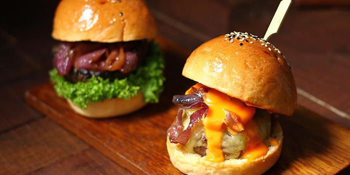 Burger from I am... (Haji Lane) in Bugis, Singapore