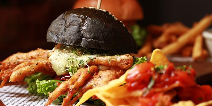 Soft Shell Crab Burger from I am... (Haji Lane) in Bugis, Singapore