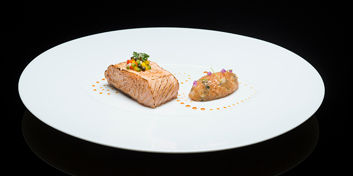 Adour Salmon from Les Amis at Shaw Centre in Orchard, Singapore