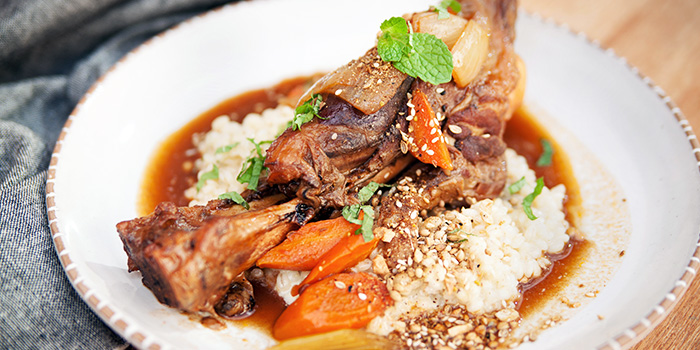 Lamb Shank from Sarnies Cafe at Telok Ayer in Raffles Place, Singapore