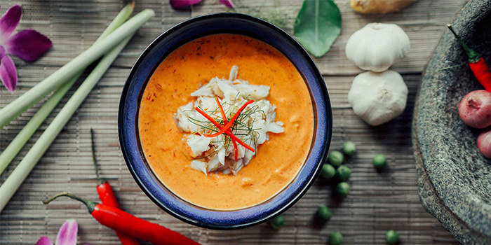 Panaeng Red Curry Crab from Sawadee Thai Cuisine in Bugis, Singapore