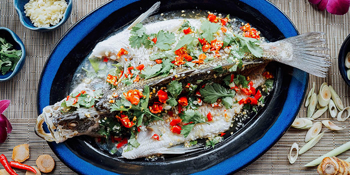 Spicy Steamed Seabass from Sawadee Thai Cuisine in Bugis, Singapore