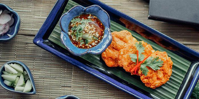 Thai Style Fish Cakes from Sawadee Thai Cuisine in Bugis, Singapore