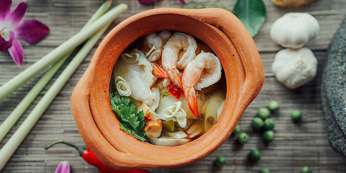 Tom Yum Soup from Sawadee Thai Cuisine in Bugis, Singapore