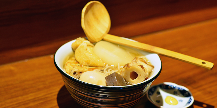 Oden Soba from Shukuu Izakaya in Raffles Place, Singapore
