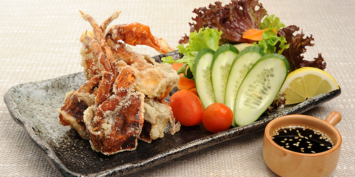 Softshell Crab from Otaru Suisan in Bugis, Singapore